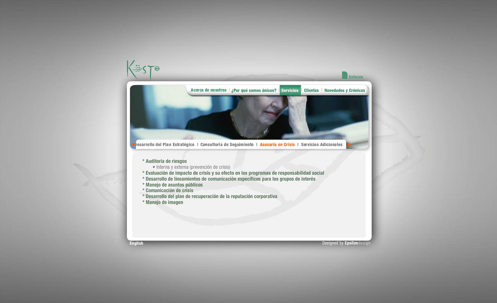 Verde Kost - Servicios (Asesoría en crisis)